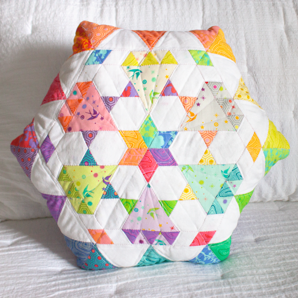 Diamond Dust Pillow Pattern by Paper Pieces