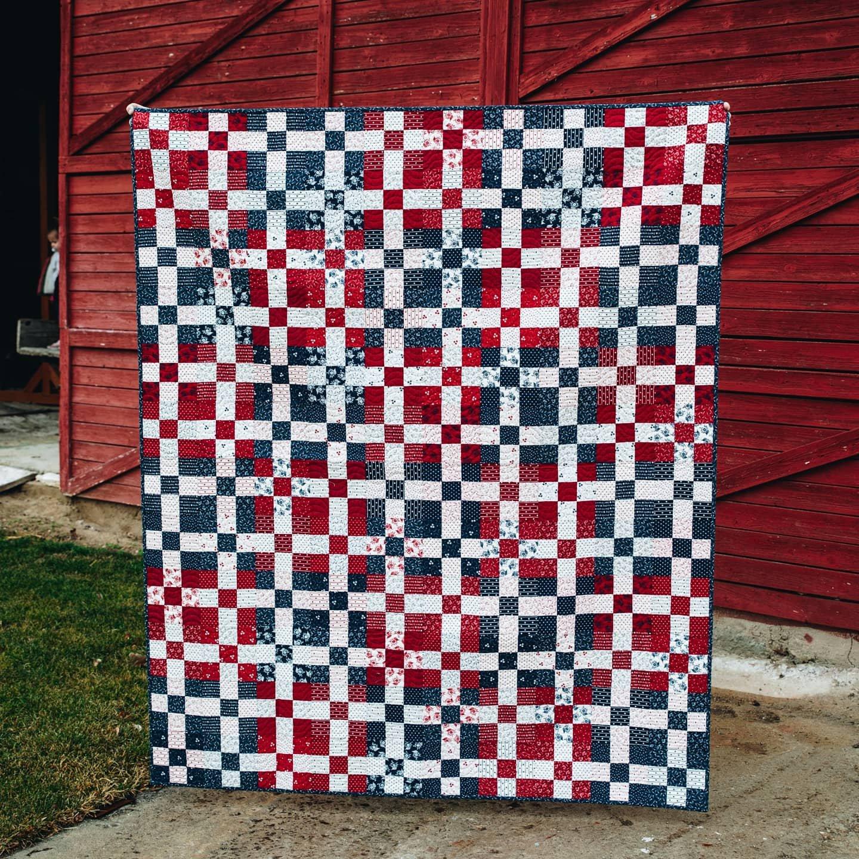 America Rolls On Quilt Kit