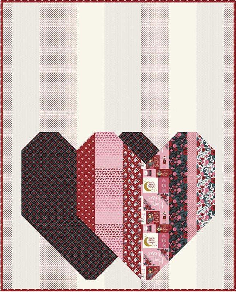 Pop Heart Shop Sample Quilt