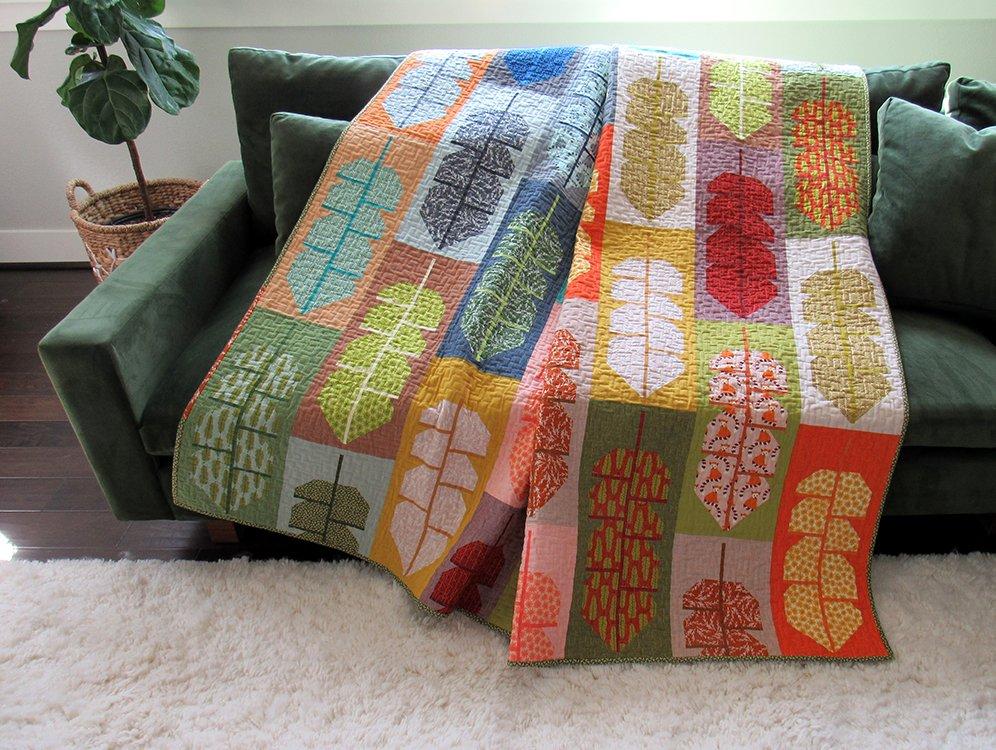 Leafy Quilt Kit