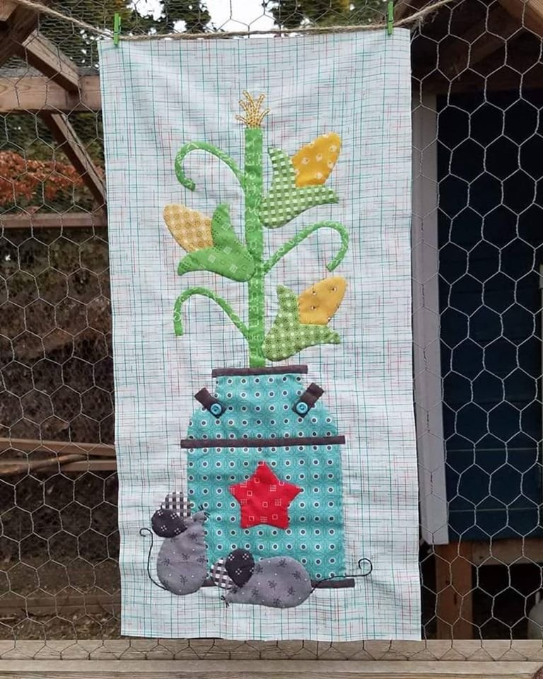 Milk Can Wall Hanging