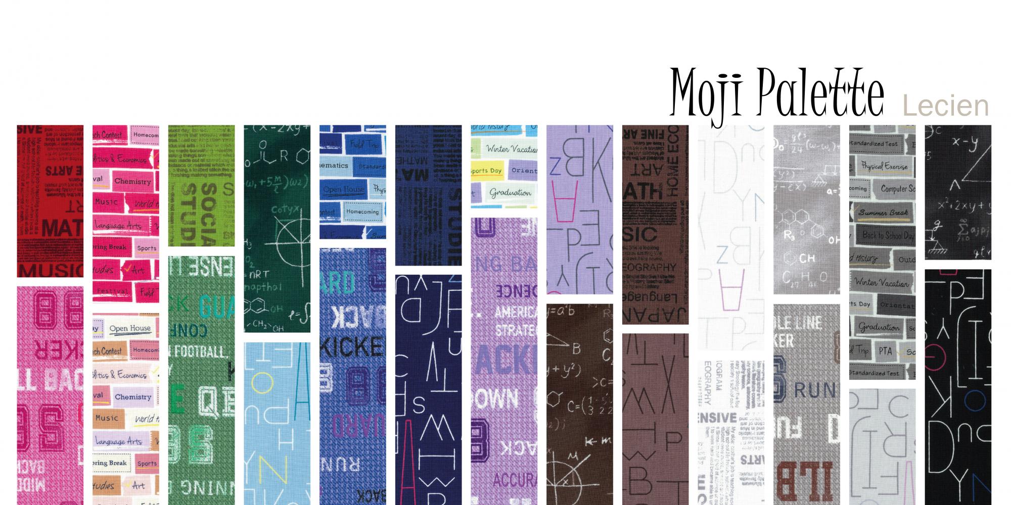 Moji Palette 1/2 yd bundle