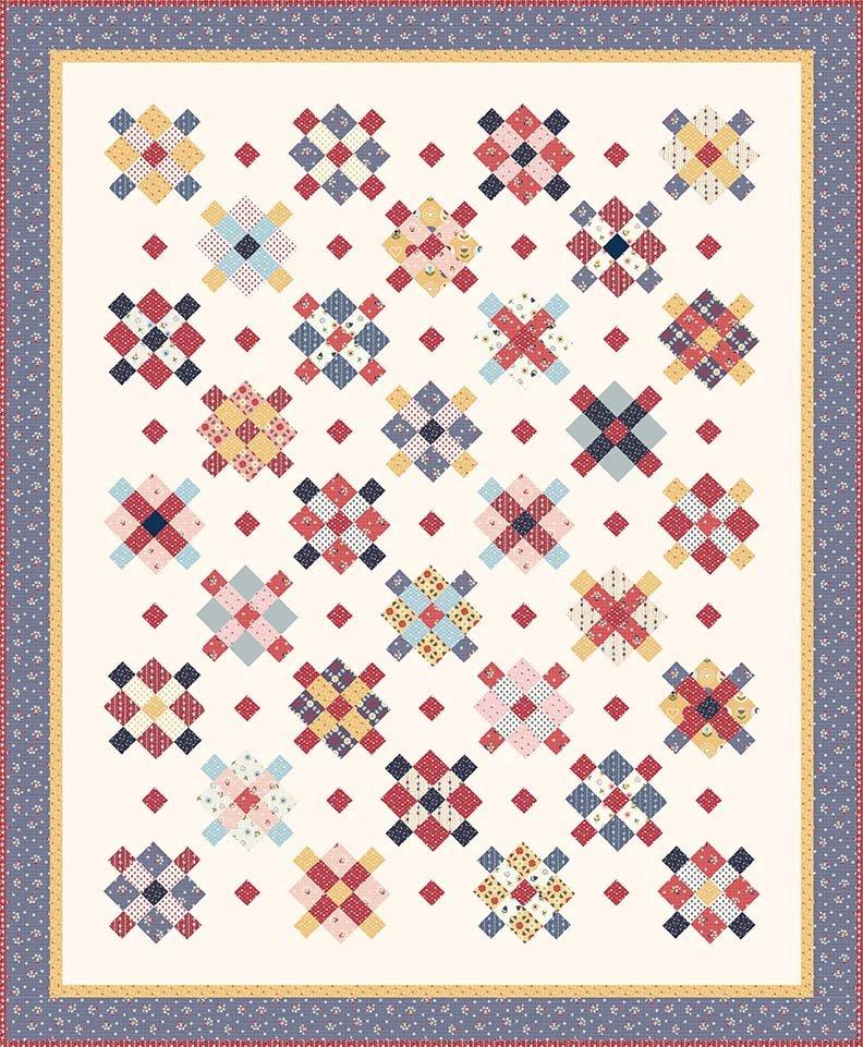 Fraulein Quilt Pattern