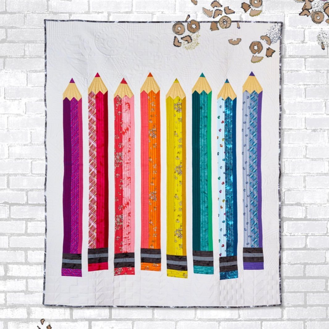Pencil Club President Quilt Kit