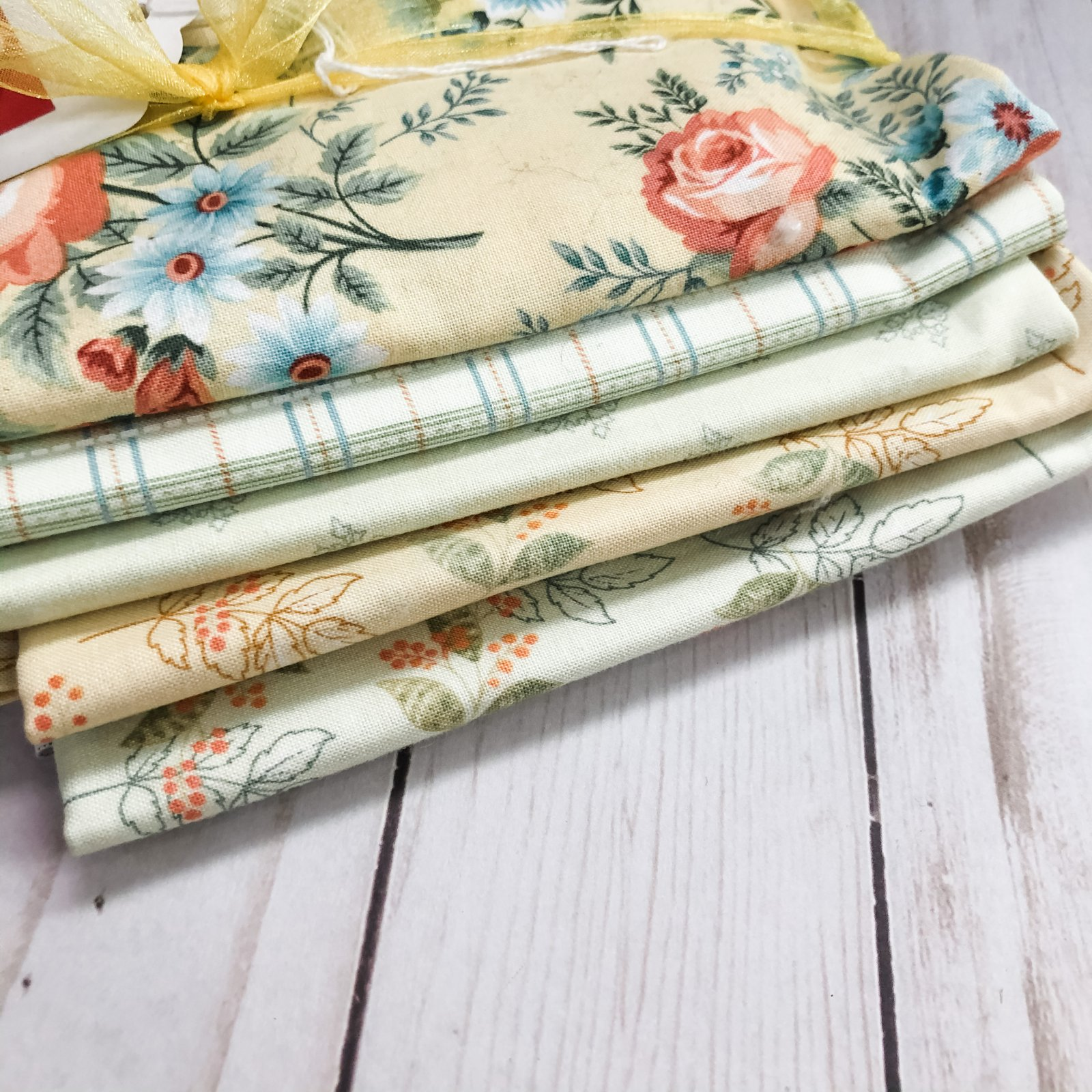 Yellow Spiced Garden Half Yard Bundle