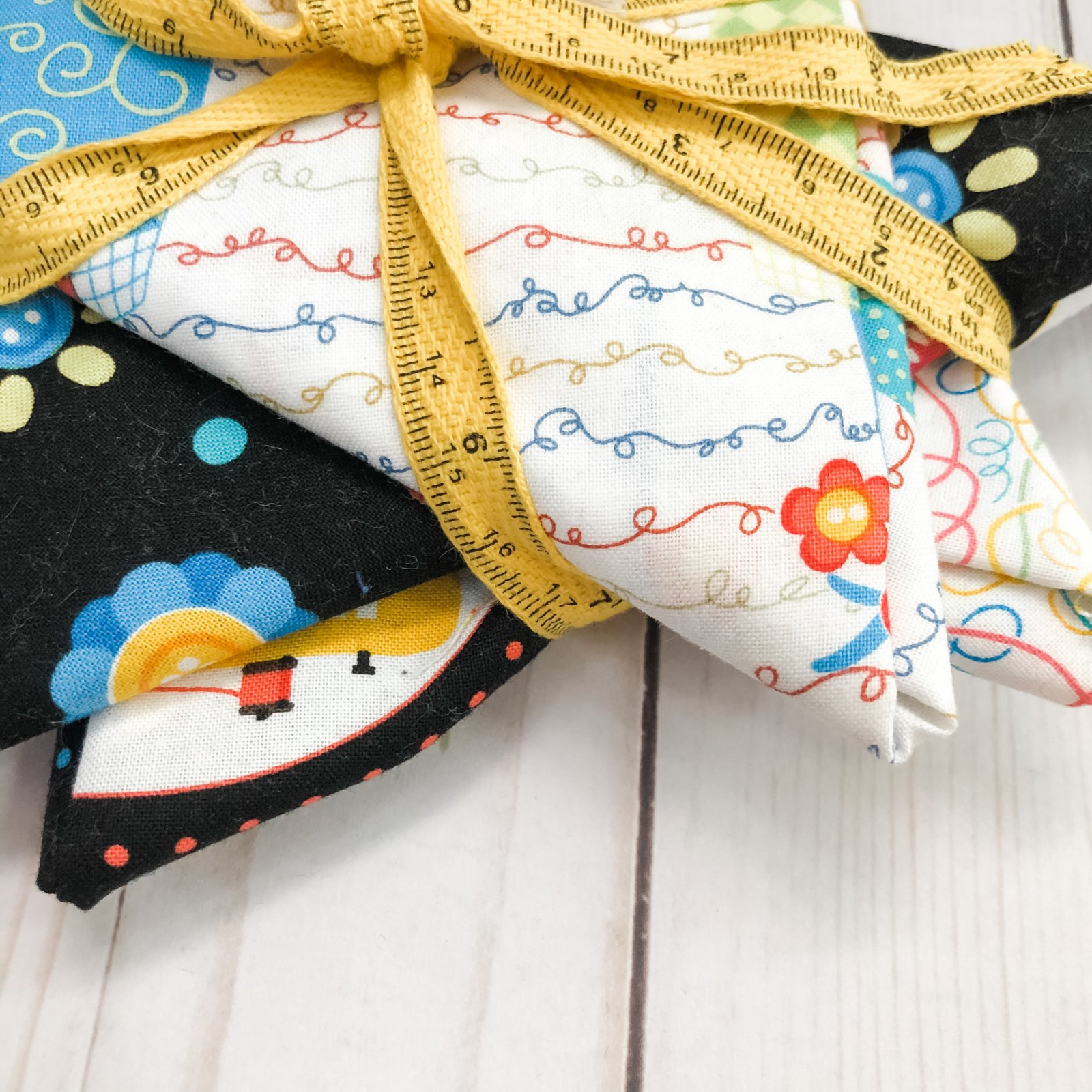 Sew Excited! 4 FQ Bundle