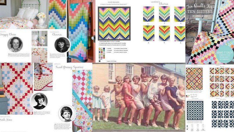 Ten Quilts for Ten Sisters