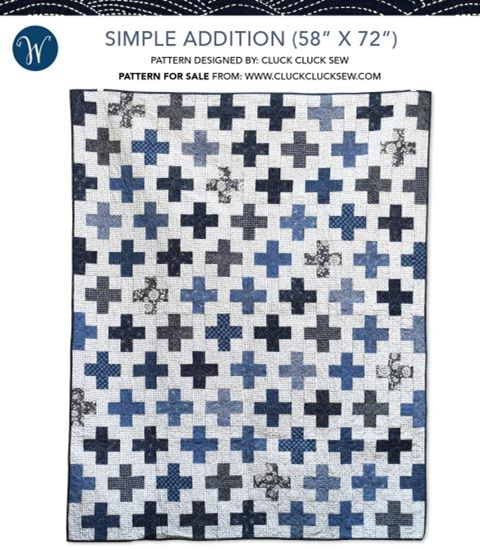 Simple Addition Quilt Kit