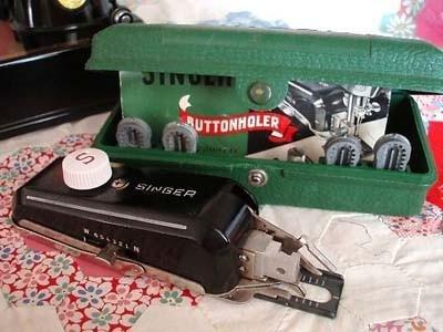 Buttonholer Attachment Singer (Vintage Original)