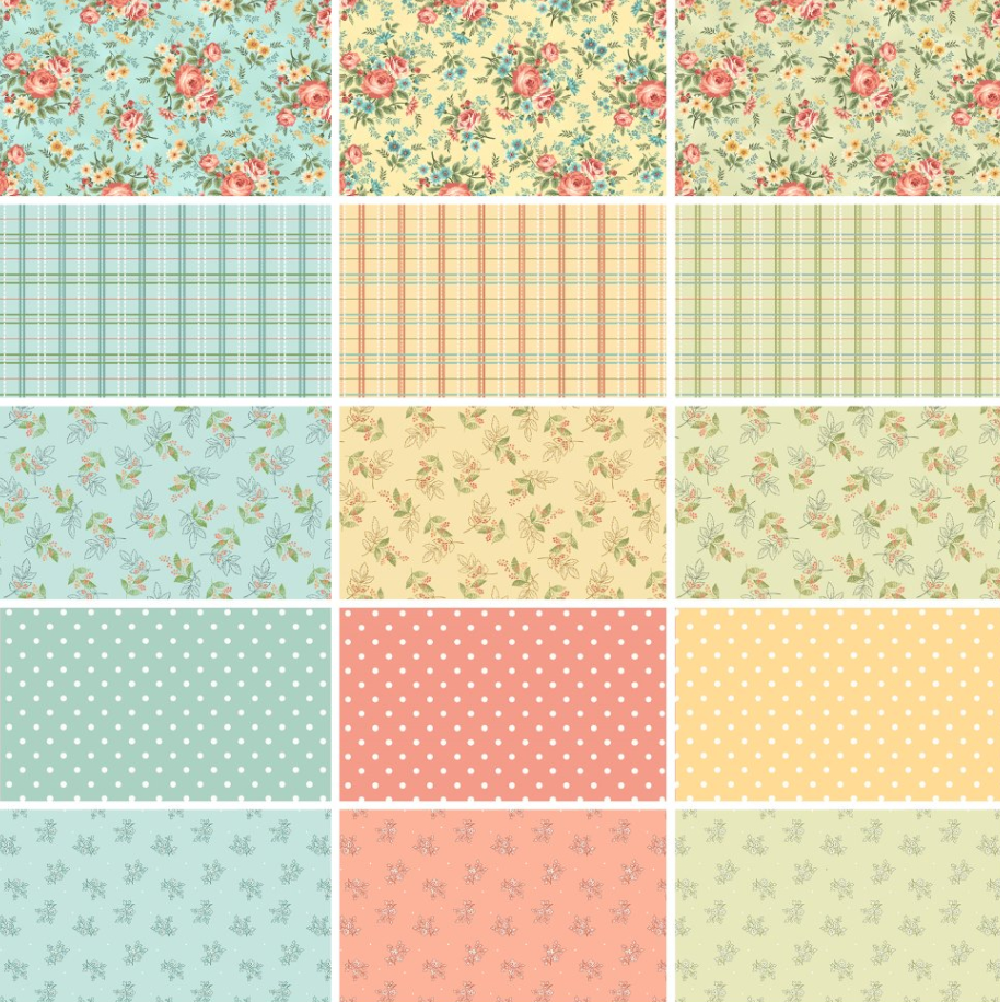 Spiced Garden Fat Quarter Bundle, 15 prints