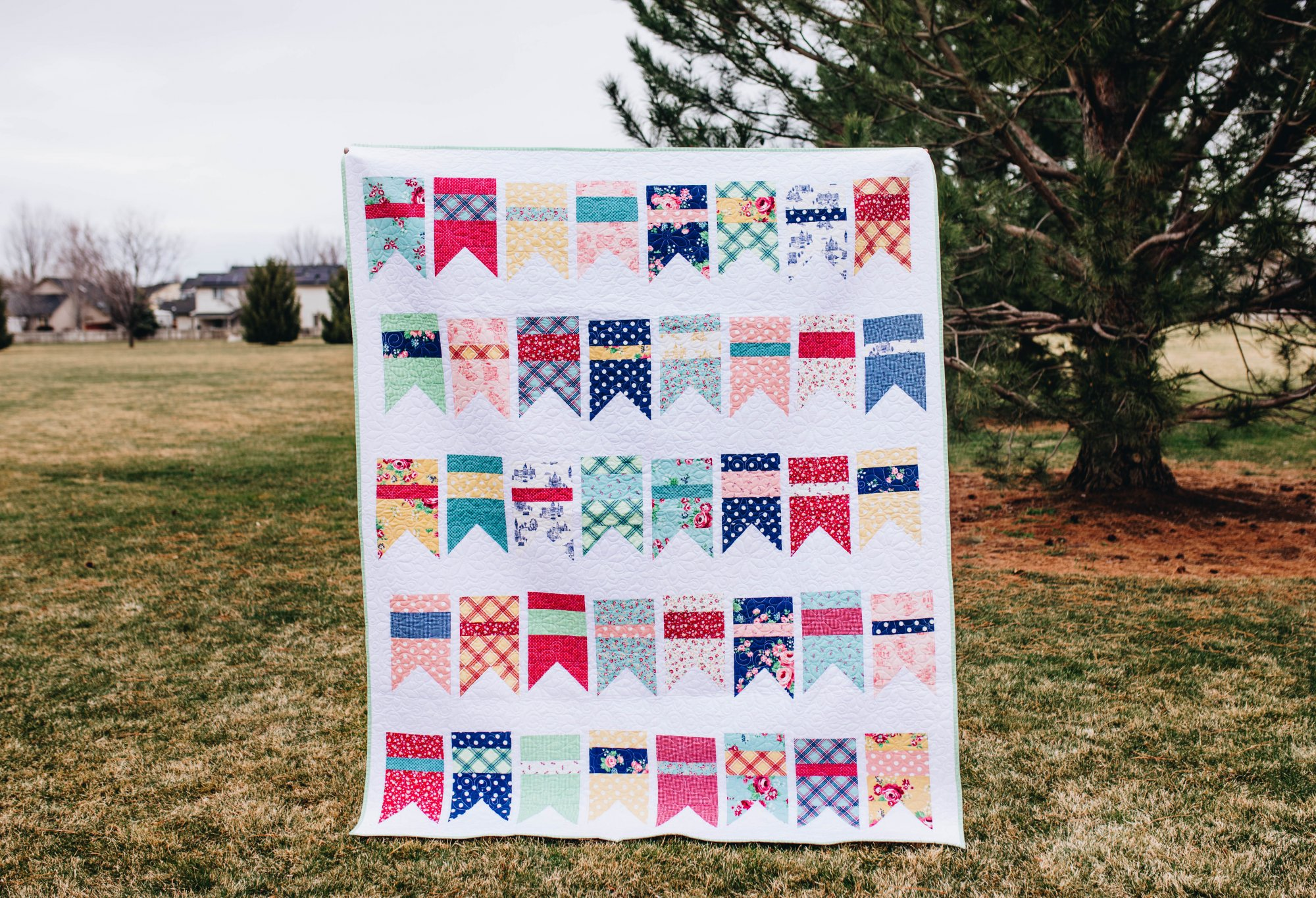 Notting Hill Summer Bunting Quilt Kit