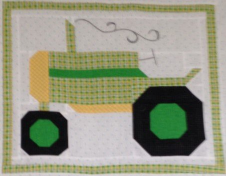 Tractor Block 16 x 20 - Pre-cut