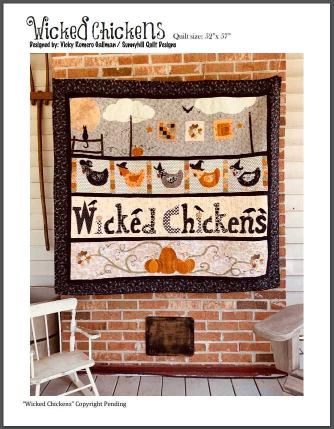 Wicked Chickens Pattern