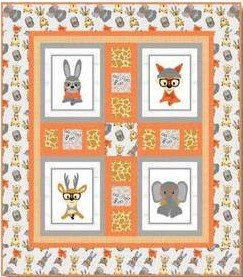 Wild and Free Eyeglass Quilt Kit
