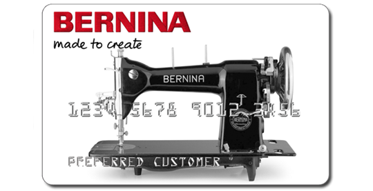 Finance your Bernina Purchase