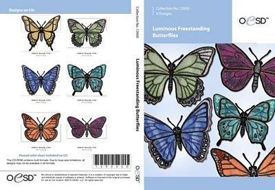 OESD Luminous Freestanding Butterfly