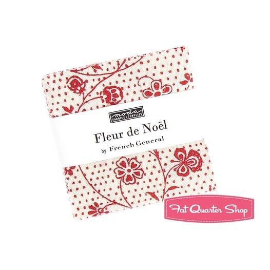 Fleur De Noel Mini Charm