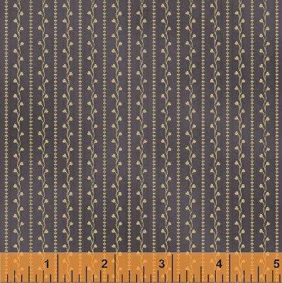 31682-5 Gettysburg purple/cream stripe