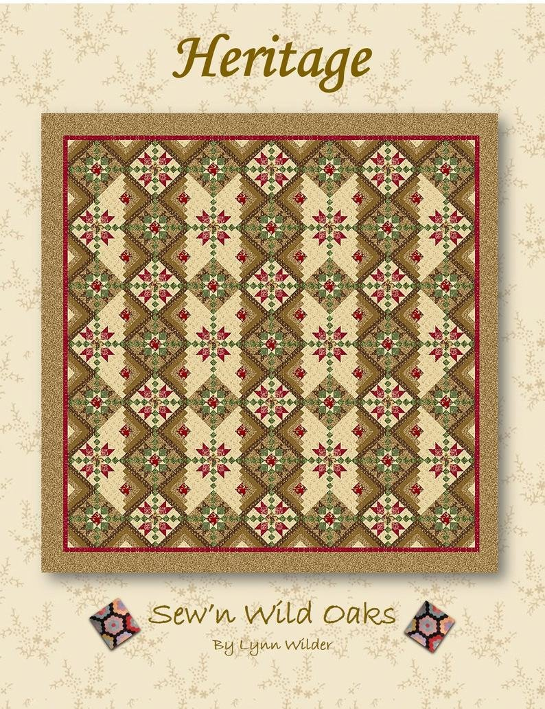 Heritage  pattern by Lynn Wilder