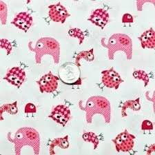 Brother Sister Pink elephants and owls