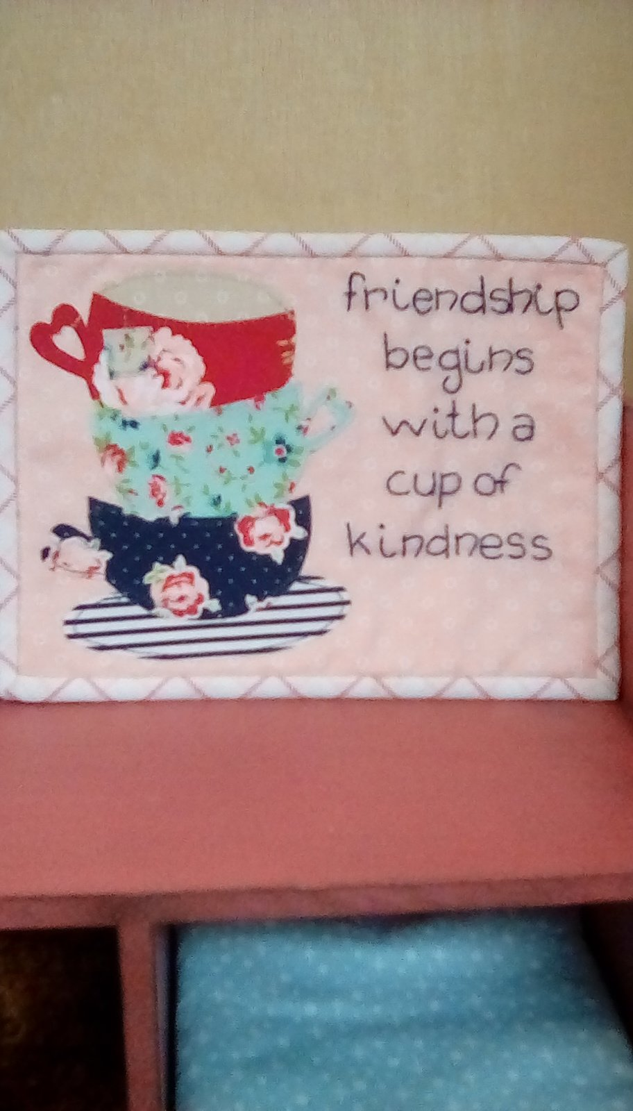 Cup of kindness pattern
