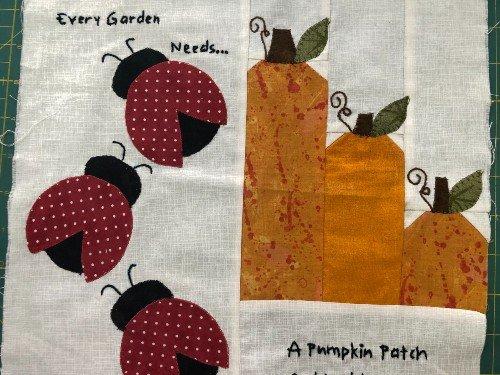 Quilters Harvest Hop free pattern - Garden Harvest 2020