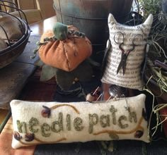 #235 Needle Patch Pin Keeps