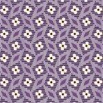 Aunt Grace R35-6261-0335 Purple/white