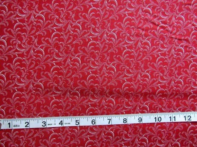 sophisticates wispy fern dot red