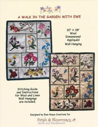A Walk In The Garden With Ewe Wool Kit