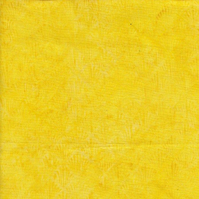 County Fair - Square Fan-Yellow