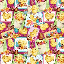 Easter Parade Chick Patches 27580 P