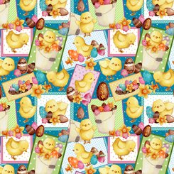 Easter Parade Chick Patches 27580 Q