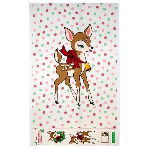 Deer Christmas Digital Panel 31160P