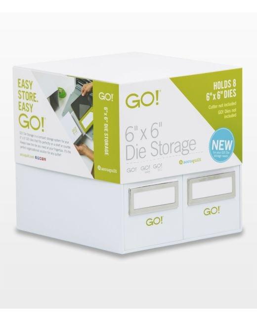 GO! 6 x 6 Die Storage