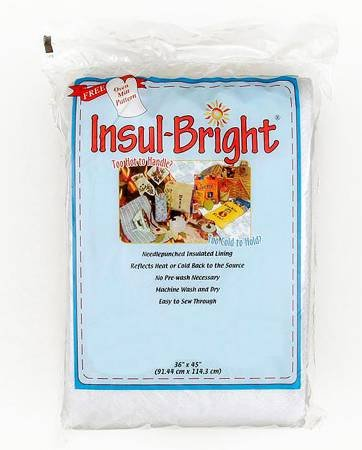 Insul Bright Insulted Lining 1yd