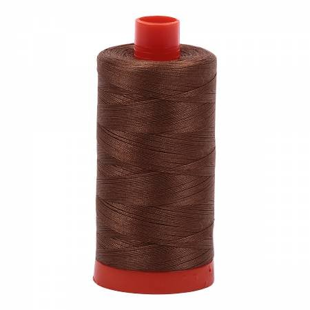 Aurifil 2372 Cotton Thread 50wt 1422yd Dark Antique Gold