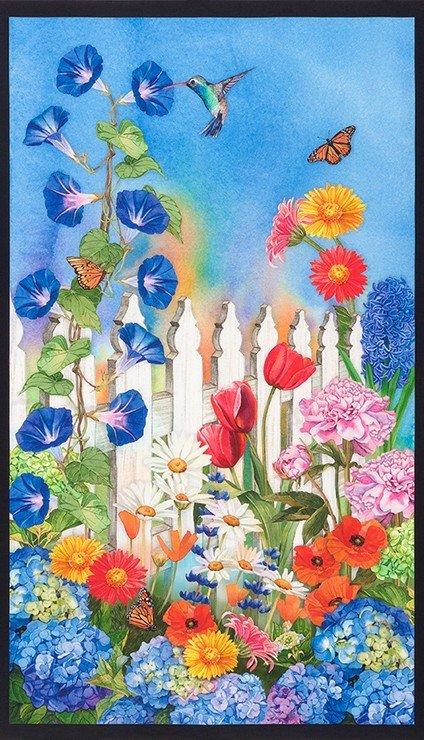 Vibrant Garden Panel 18303 238