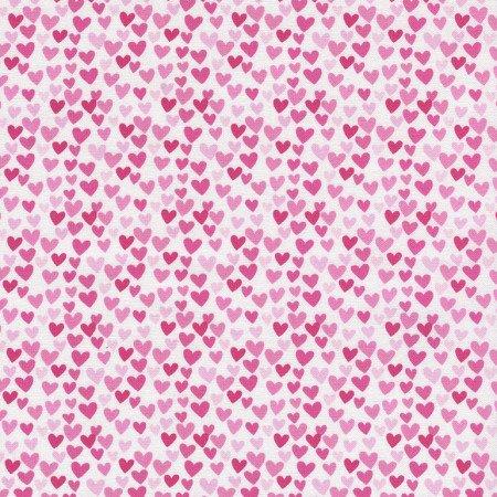 Hearts C3355 Pink