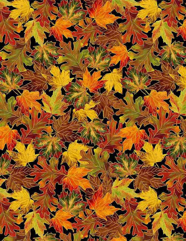 Harvest Tossed Fall Leaves CM8546