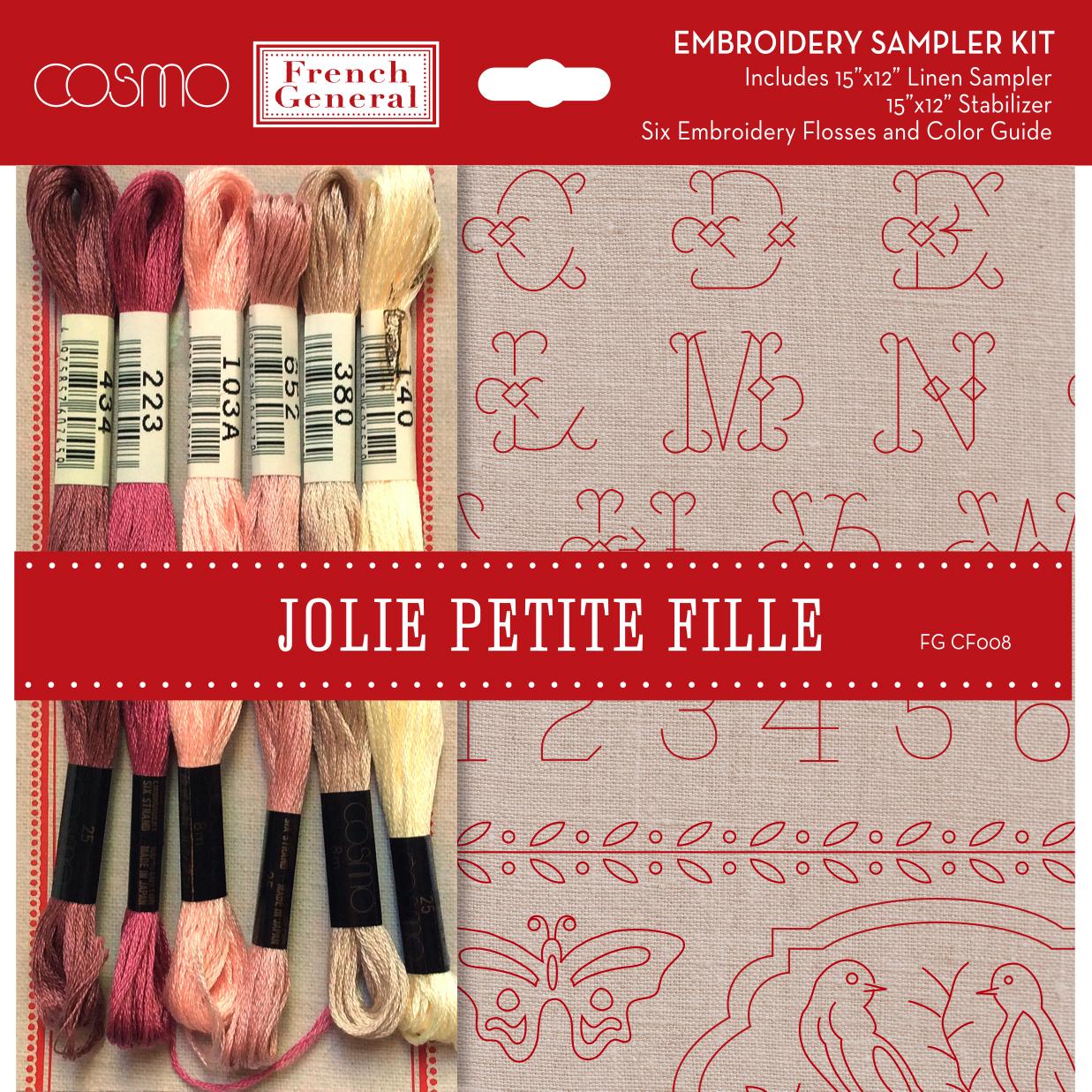 Jolie Petite Fille 15 x 12 kit FG CF 008