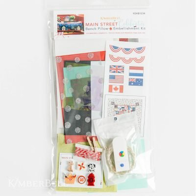 KB Main St Bench Pillow Embellishment Kit