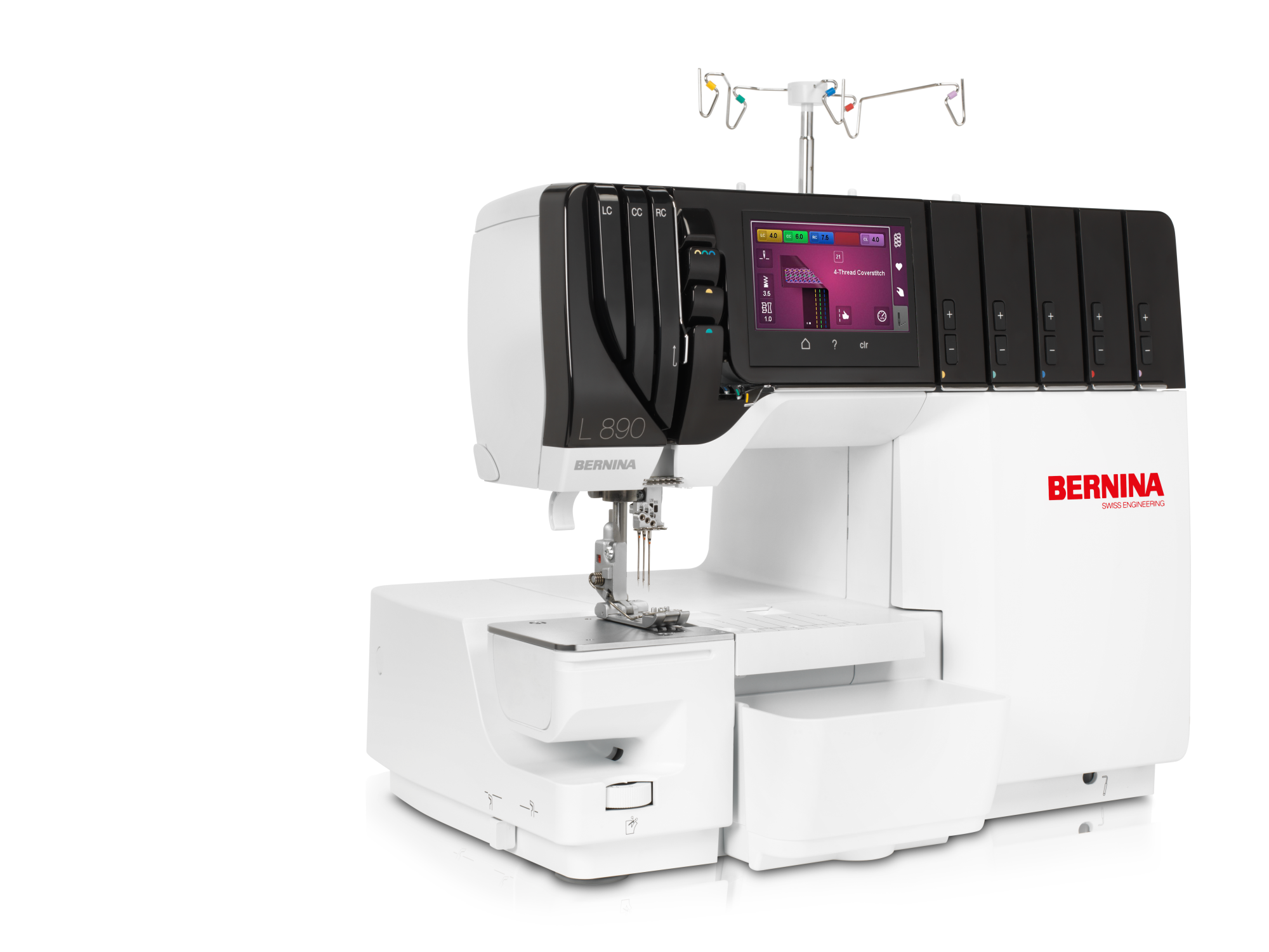 Bernina L890 - Air Threader Overlocker