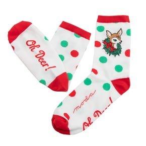 Deer Christmas Socks 26