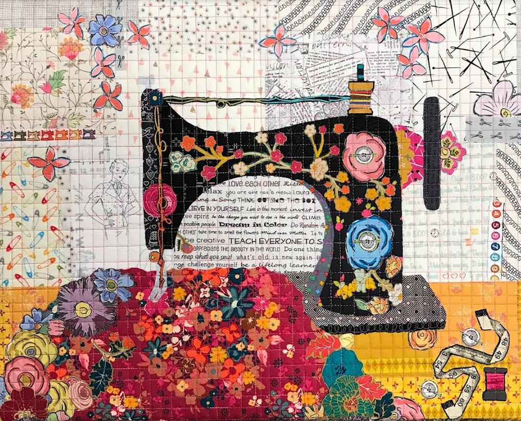 Teeny Tiny Sewing Machine Kit