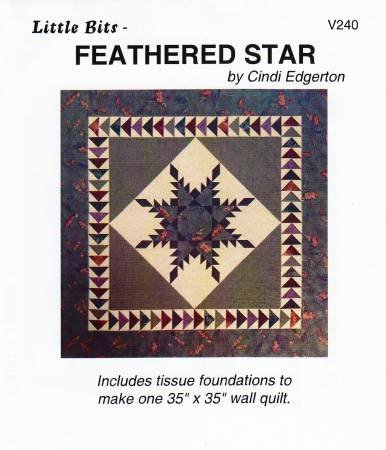 Feathered Star by Little Bits