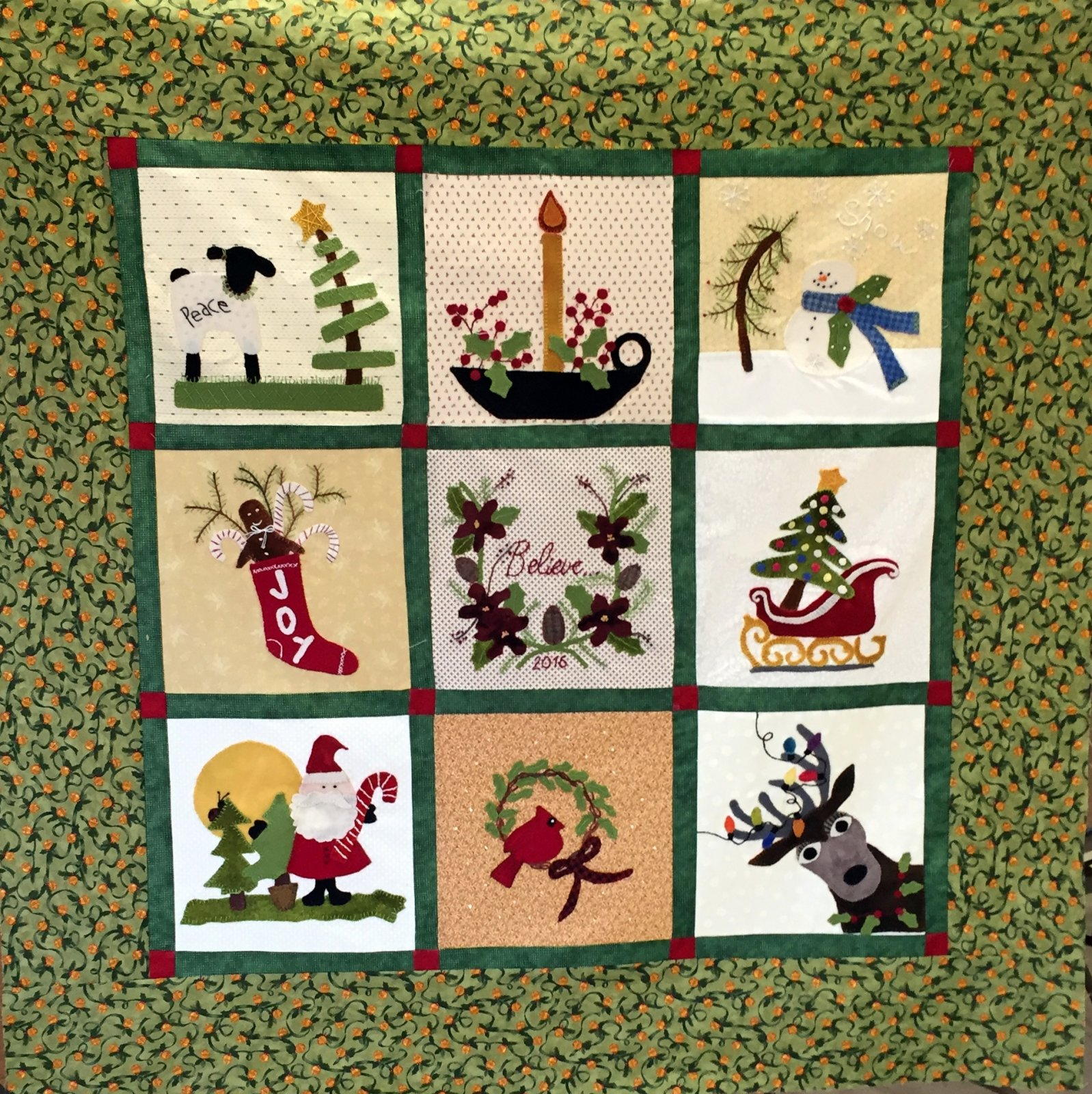 Christmas Quilt Block Of The Month Christmas Decore