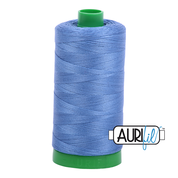#1128 Light Blue Violet Aurifil Cotton Thread