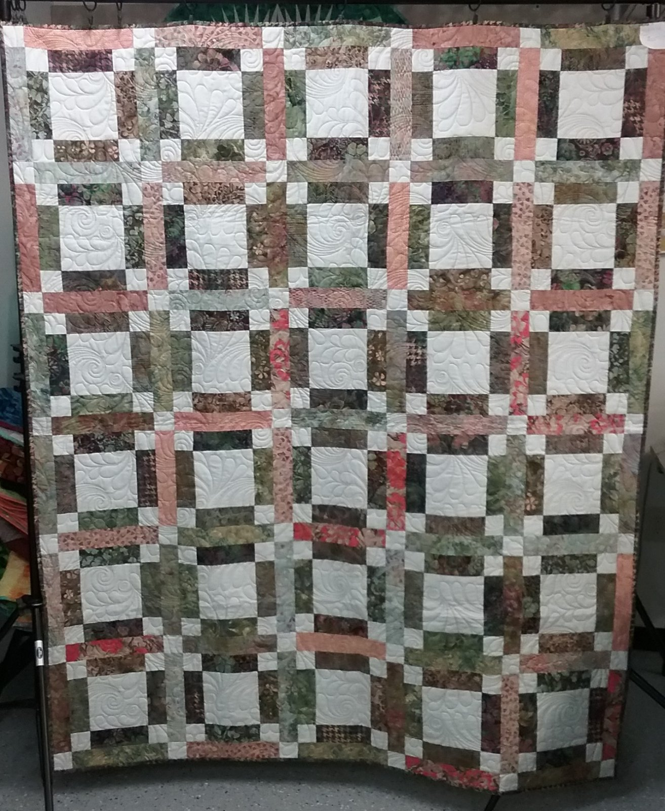 Belle Batik Finished Quilt