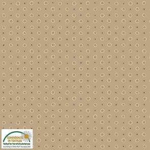 Hannah Basics Beige Repeating Circles and Dots 4512-471